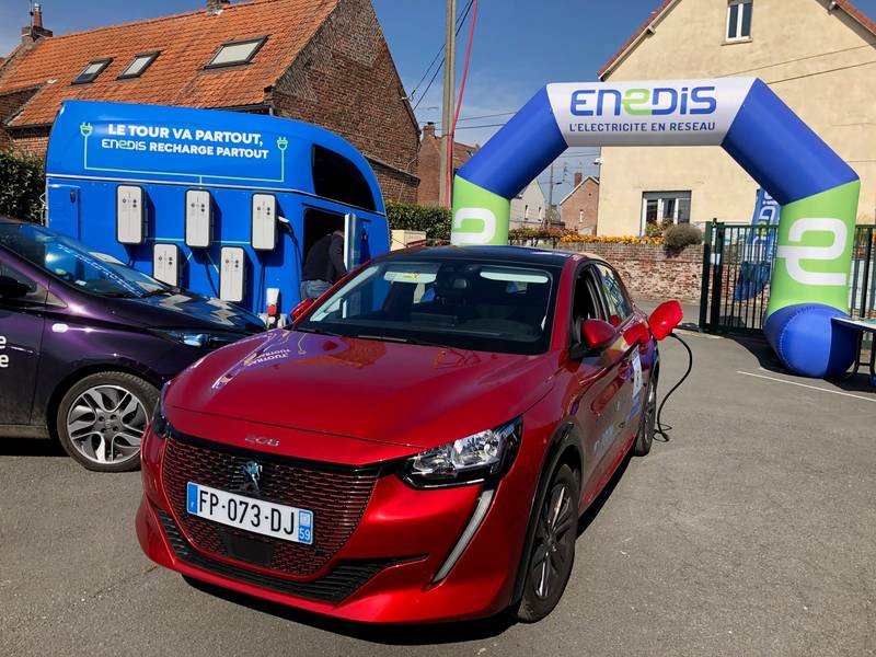 On the way to ecological transition : ENEDIS encourages its employees to use electric mobility