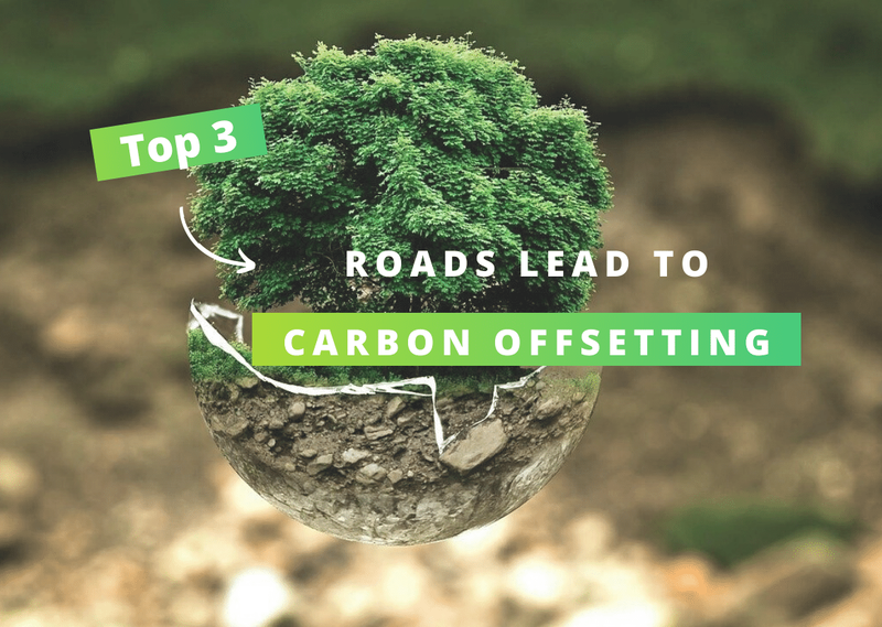 3 roads lead to... Carbon offsetting!