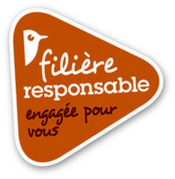AUCHAN FRANCE - GROUPE AUCHAN valorise et matérialse sa démarche filière agricole responsable par un nouveau logo
