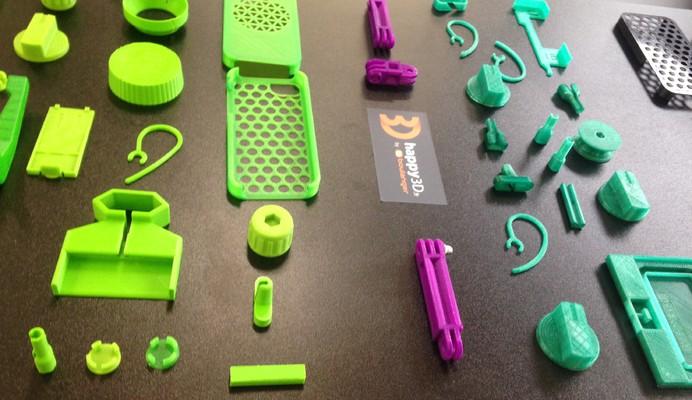 Imprimer en 3D des pièces détachées avec BOULANGER et Happy 3D