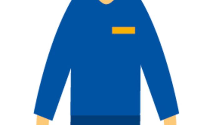 GRDF recycle ses vêtements de travail !