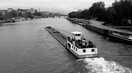 MONOPRIX is in favour of river transport and rail transport